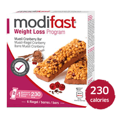 Barre Muesli Cranberry Modifast
