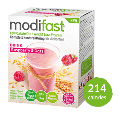 Modifast Natural Oat Drink Himbeere & Cerealien