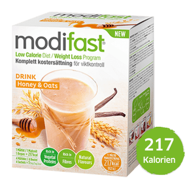 Modifast Natural Oat Drink Honig & Cerealien